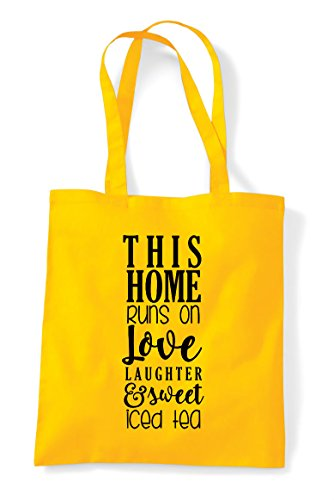 Home Yellow Bag Shopper Runs And Statement Tote Tea On Sweet This Love gUZxqUPd