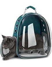 Doubleblack Transparante, ademende rugzak voor honden en katten, outdoor, capsuleontwerp, 180 graden, bezienswaardigheden voor huisdieren, reizen, wandelen, afmetingen: 30 x 23 x 33 cm