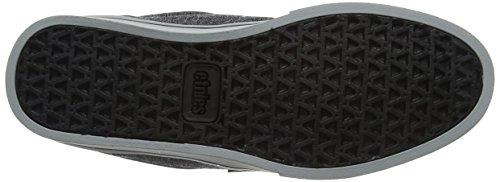 Denim 2 Jameson Silver Pointure Skateboard Eco de Noir Etnies Homme Chaussures Grey Black HUd7wW5xq