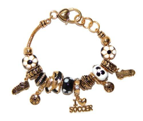 landau Ambrosia Puerto Rico Theme Charm Bracelet