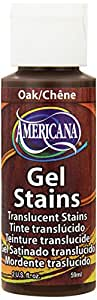 DecoArt Americana Gel Stains Paint, 2-Ounce, Oak