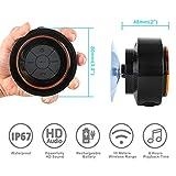 Bluetooth Shower Speakers, HAISSKY Portable