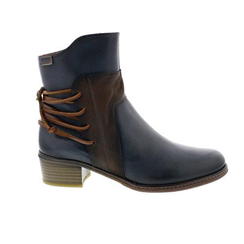Pikolinos Womens Zaragoza W9H-8926 Leather Boots Océan