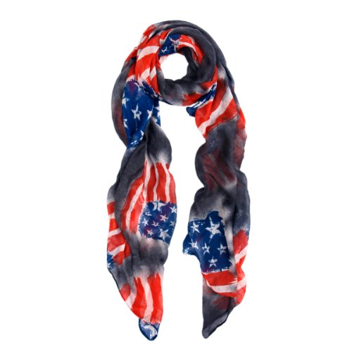 Vintage-USA-American-Flag-Print-Fashion-Scarf