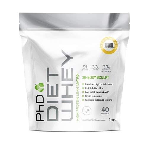 PhD Nutrition Diet Whey Protein Powder, 1 kg, Vanilla Cream