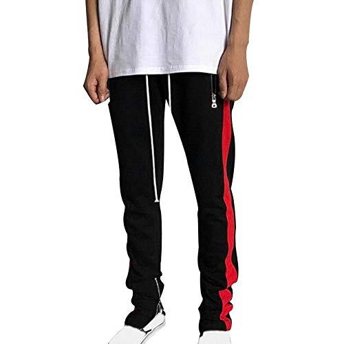 Pantalones de chándal de Color de Moda para Hombre Pantalones de ...