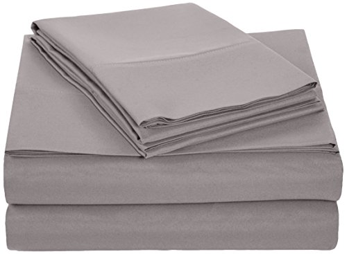 AmazonBasics Microfiber Sheet King Dark