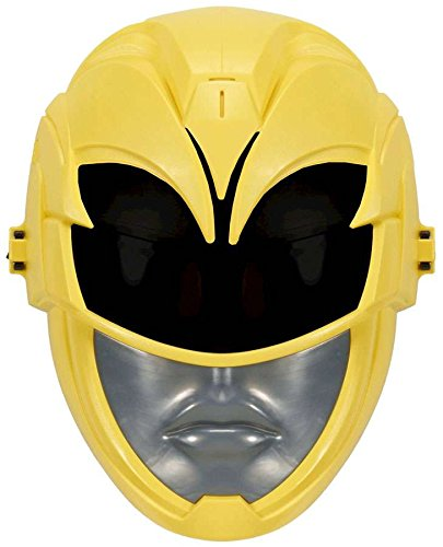 Power Rangers Sabans Movie FX Yellow Ranger Sound Effects Mask Exclusive