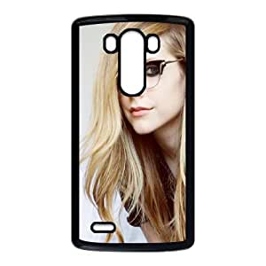 Geeky Avril Lavigne LG G3 Cell Phone Case Black phone component AU_593584