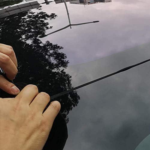 Fauge pour Tesla Mod/èle 3 Pare-Brise et Vent de Toit Joint R/éduction du Bruit de LAmortissement R/éduction du Toit Ouvrant en Caoutchouc Silencieux Kit de en Silicone-2/ème G/én/ération