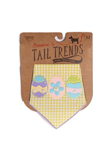Pictures of Tail Trends Easter Dog Bandanas with Easter 3