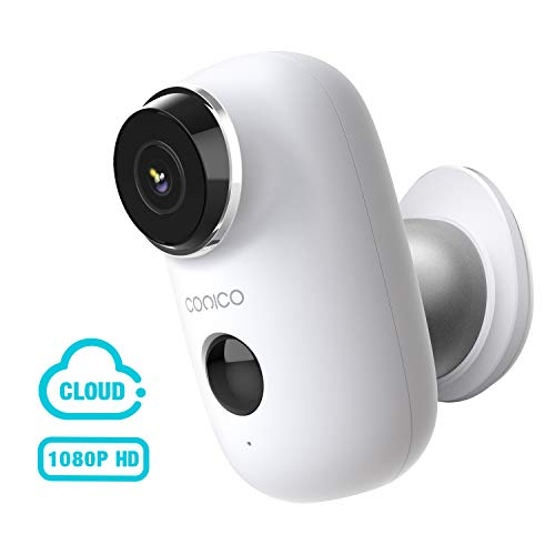 HD 1080P WiFi IP Security Camera Rechargeable Battery Powered Wireless SD Card