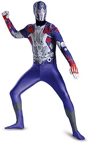Men's Hasbro Transformers Age Of Extinction Movie Optimus Prime Bodysuit Costume,