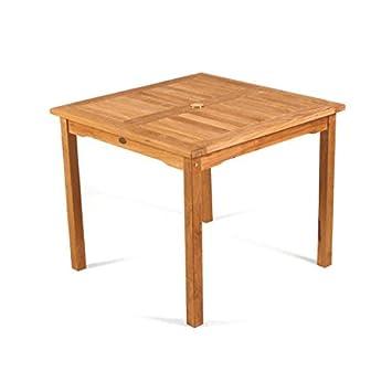 Amazon De Brackenstyle Outdoor Holz Garten Terrasse Tisch