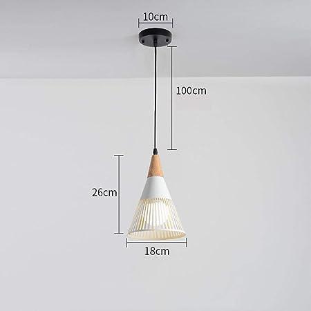 MXK-Lampe Lámpara E27 lámpara de Jaula de Hierro de Llama lámpara ...