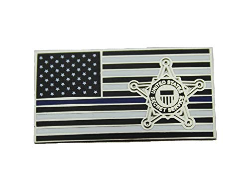 - USSS Lapel Pin Secret Service Subdued Thin Blue Line Lapel Hat Pin