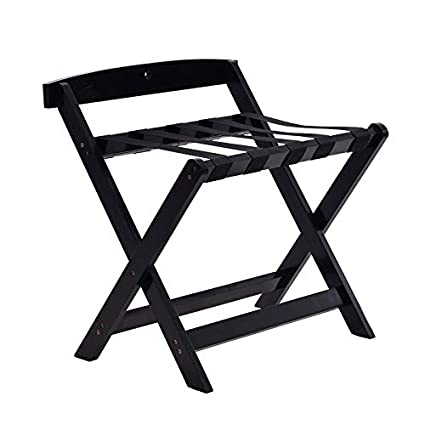 Amazon.com: Luggage Racks- Solid Wood Luggage Rack, Hotel Room Floor ...