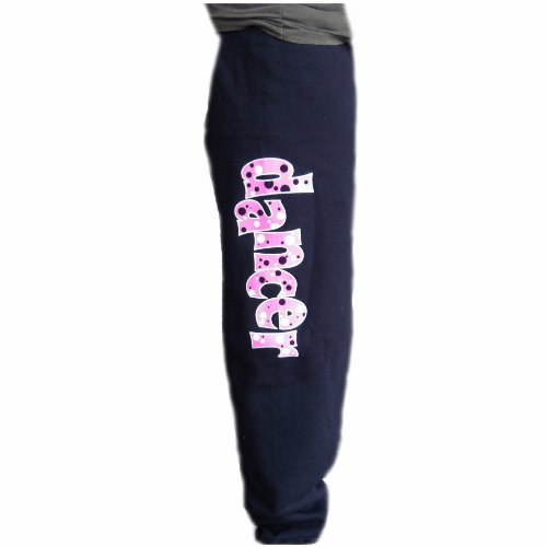 Bubbles Sweat Pants Black Adult Small - Adult Dance Sweatpant