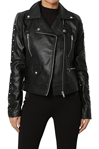 Leather Jackets For Women With Studs - 7