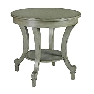 Keely Antique Grey Side Table