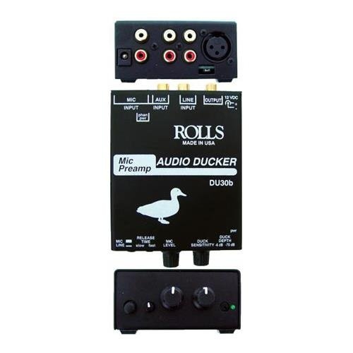 rolls Mic Preamp Audio Ducker (DU30B)