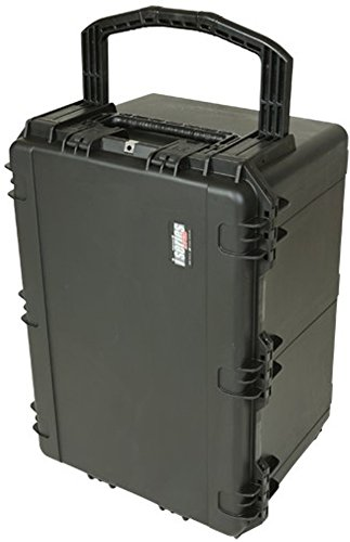 SKB 3I-3021-18BC 30 x 21 x 18 Inches Audio Utility Case with Wheels and Cubed Foam by SKB