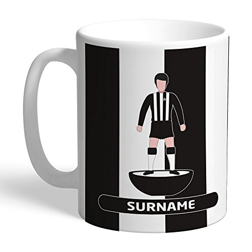 Newcastle United Official Personalized FC Player Figure Mug - FREE PERSONALISATION by Newcastle United