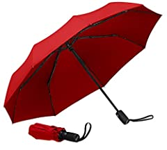 Defy the logic of Mother Nature with the Repel Easy Touch Travel Umbrella, featured on Good Morning America as the #1 choice. Deemed by The Wirecutter, a popular review site, who put in 50 hours of research, testing 33 different umbrellas thr...