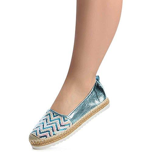 Femmes Ballerines topschuhe24 Chaussures topschuhe24 Femmes xSBRUqIn