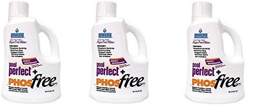 Natural Chemistry 5131 Pool Perfect BscTbY Concentrate and Phos Free Pool Cleaner, 3 Liter (Pack of 3) by Natural Chemistry