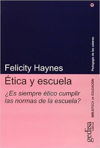 Libro sobre ética