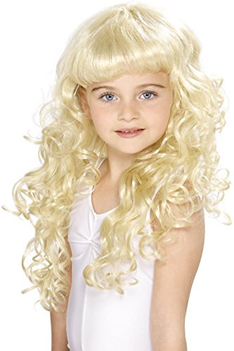 Princess Blonde Kids Wig