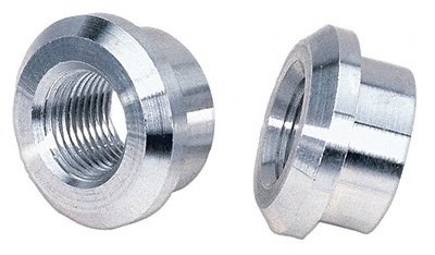 Moroso 68910 Aluminum Weld-In Bungs - Set of 2 KEYU1