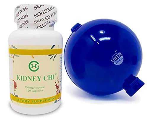 Kidney Chi (Chi's Enterprise) 350mg,120 caps ViitaBall Bundle