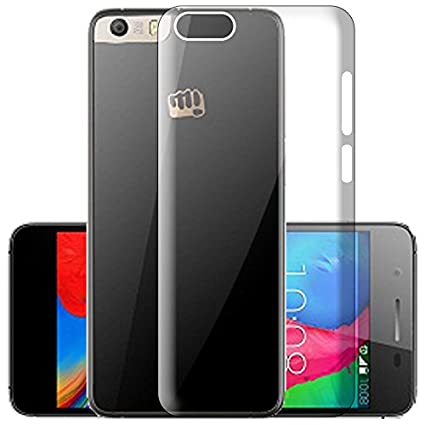 huge discount 16a24 15701 ECellStreet Silicone Soft Back Cover for Micromax: Amazon.in ...
