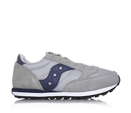 Saucony Grigio Jazz Allacciata Sneaker Mainapps blu rwrqIad