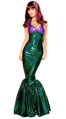 Wonder Lingerie Plus Women s Mermaid Temptress Halloween Party Costume b502b05ba92