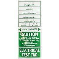 Jaybro Appliance Test Tag - Green 100/Pack