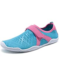 8213db117e24ee Boy and Girls Athletic Water Shoes Quick-Dry Slip on Aqua Sock for Beach  Pool
