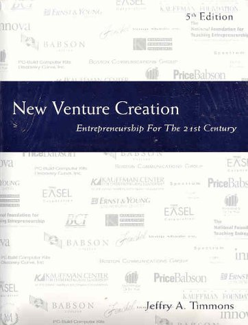 entrepreneurship new venture creation pdf