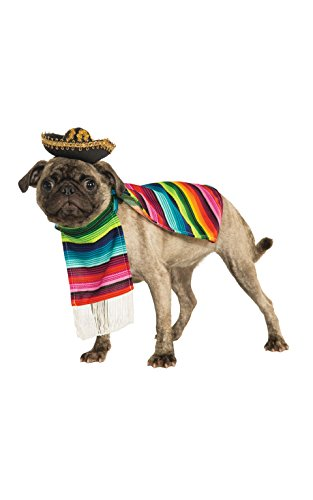 Rubie's Pet Costume, Large, Mexican (Costume Store In Manhattan)