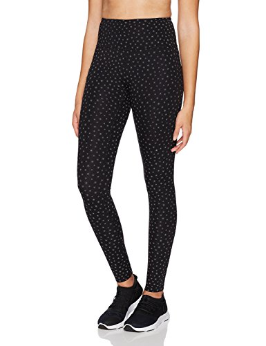 Core 10 Women's Icon Series - The Supernova Star Reflective Legging, Black/Star Reflective, Medium
