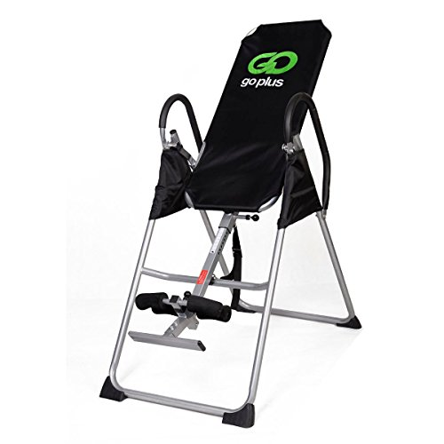 New Inversion Table Deluxe Fitness Chiropractic Table Back Pain Relief Exercise by Inversion Tables