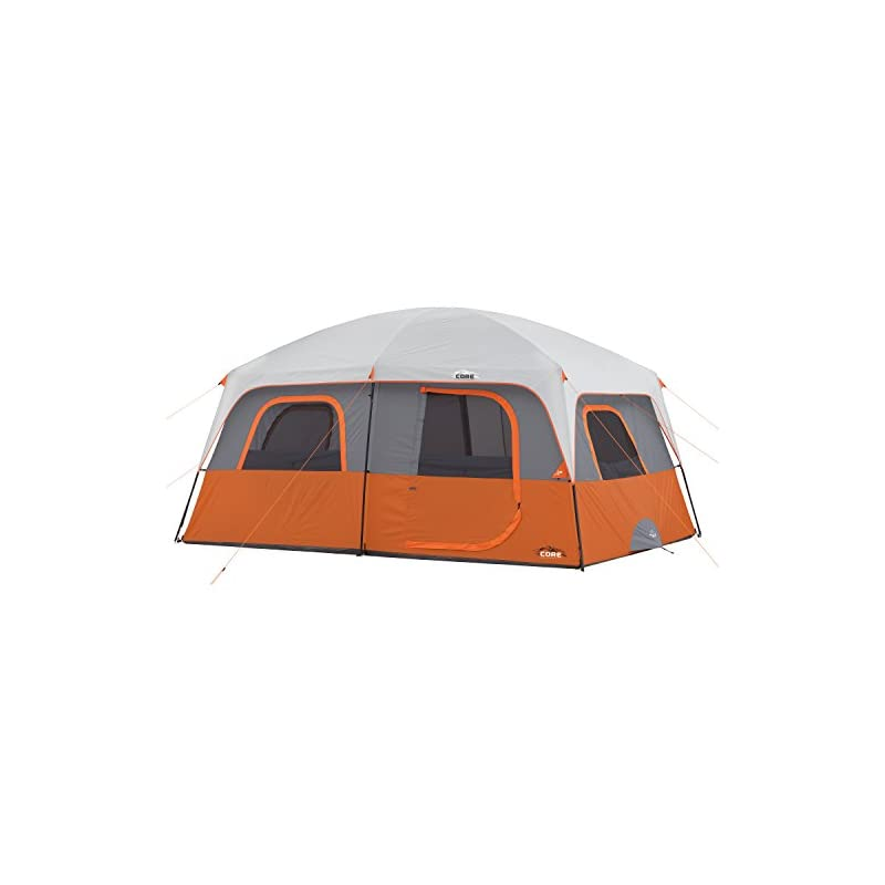 CORE 10 Person Straight Wall Cabin Tent – 14′ x 10′ – Online