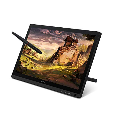 Artisul D22S 21.5inch Graphic Tablet with Screen Pen Display ,8192 Levels Pen Sensitivity with 60°Tilt,1920x1080 FHD Graphic Drawing Monitor Included Adjustable Stand