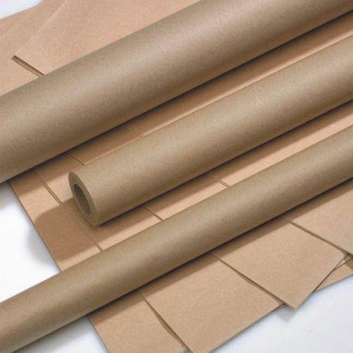 Packpapier braun auf Rolle 5 m x 70 cm / 10 m x 100 cm / 25 m x 70 cm / Paketschnur 120 m braun in Spenderbox - Geschenkverpackung - Kraftpapier - Geschenkpapier - Packschnur (2x Rolle Packpapier 5 m x 70 cm)