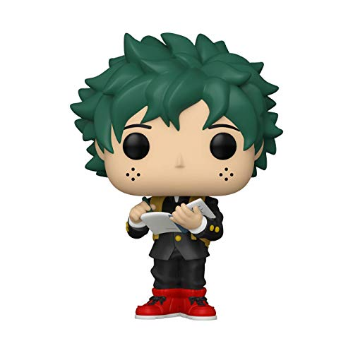 Funko- Pop Animation My Hero Academia-Deku (Middle School Uniform) Figura Coleccionable, Multicolor (48476)