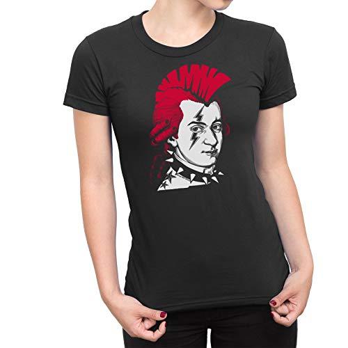 Free Will Shirts Ladies Punk Music T-Shirt Punk Mozart