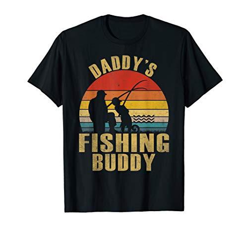 Funny Daddy's Fishing Buddy T-Shirt For Men Women Gift