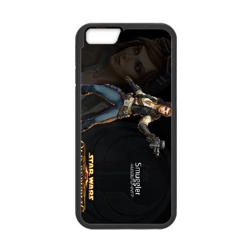 Star Wars The Old Republic 8 coque iPhone 6 4.7 Inch cellulaire cas coque de téléphone cas téléphone cellulaire noir couvercle EEECBCAAN00675